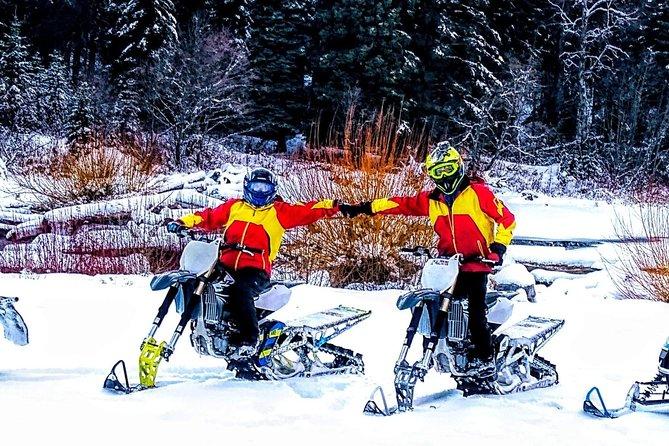 Snow Bike/Timbersled Full Day Rental at Whitefish