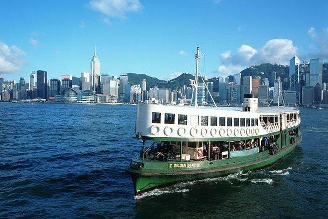 Hongkong Star Ferry Harbour Night Sightseeing Cruise