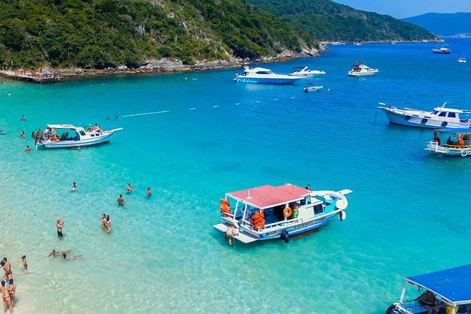 Tour Rio x Arraial do Cabo - Boat Tour, Transport and Lunch