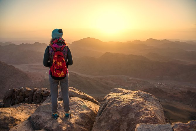 Sunrise at Mount Sinai and visit St. Catherine Monastery from Sharm el Sheikh