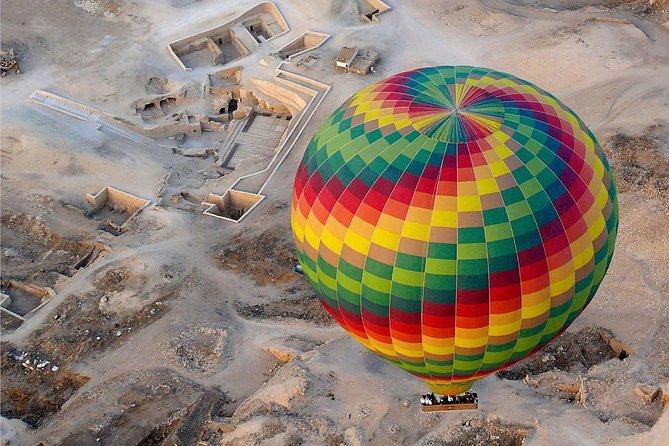 Hot Air Balloon Luxor Ride at Sunrise