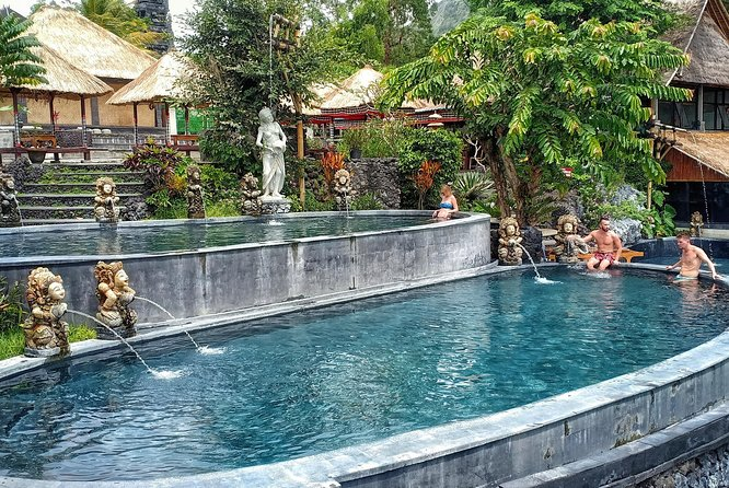 Natural Hot Spring Batur Volcano Caldera Private Full-Day Tour