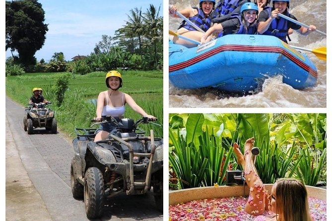 Combinnation ATV Ride + Rafting + LUxury Spa