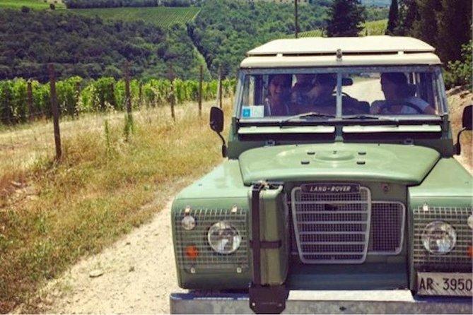 Off road Chianti wine day tour
