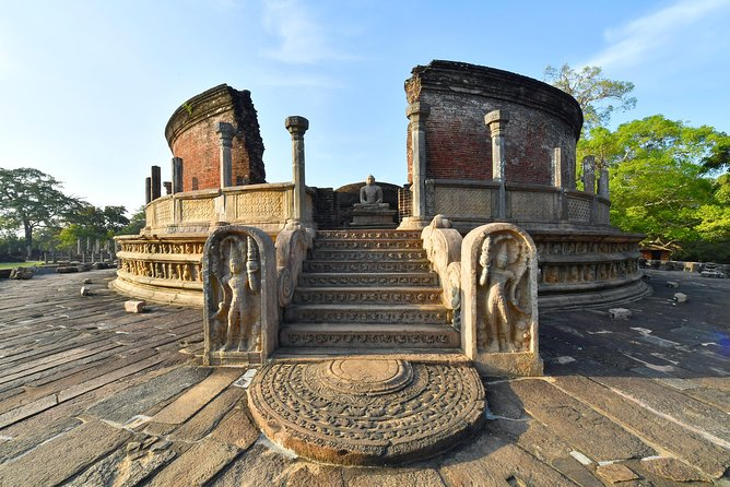 All Inclusive Polonnaruwa Day Tour from Colombo