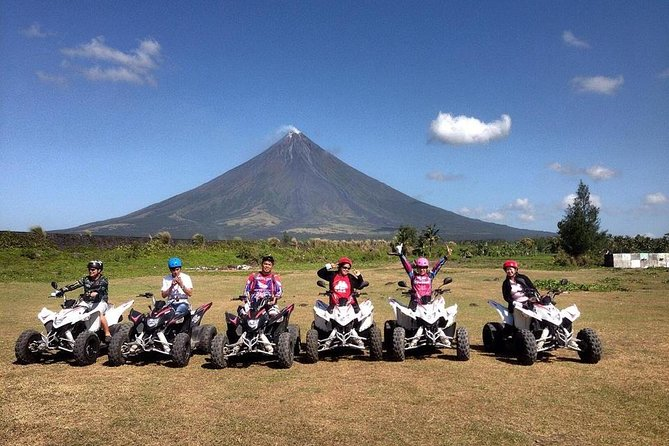 Mayon ATV Tour /Black Lava wall