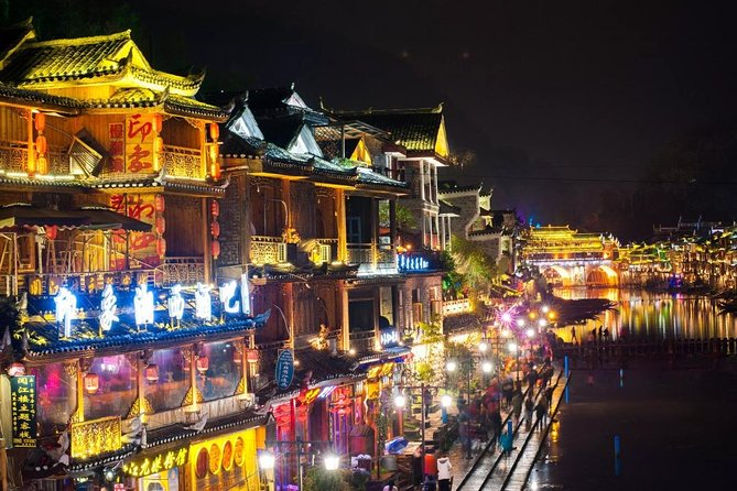 One and a half days tour to Fenghuang Ancient Town from Zhangjiajie