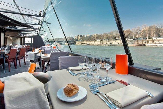 Eiffel Tower Summit Floor Access & Lunch Cruise