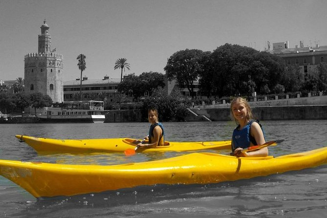 Kayak Rio Guadalquivir and Triana