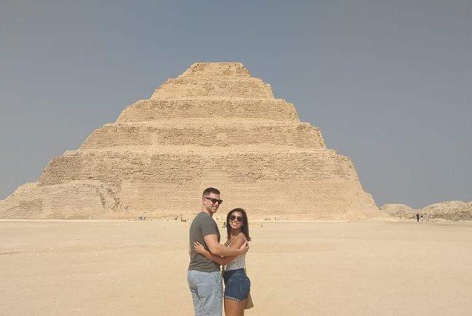 Private Day Trip to Egyptian Pyramids in Giza, Saqqara and Dahshur