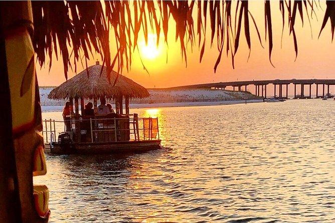 Orange Beach 90-Minute Sunset Cruise on a Tiki Bar