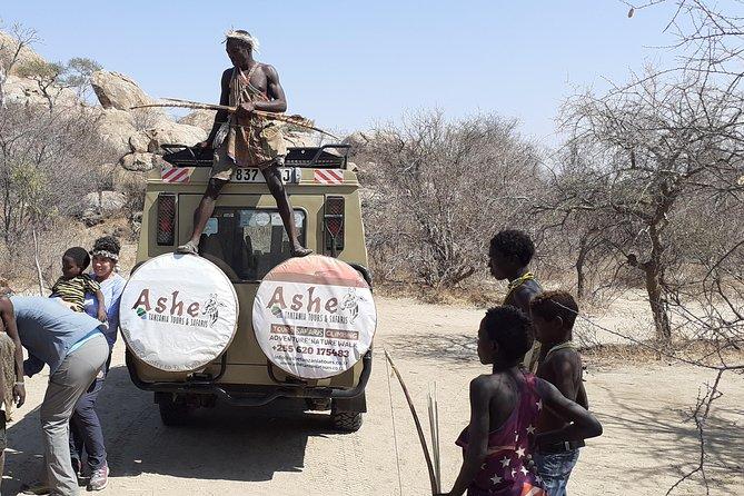 7Days/6Nights Safi Sana Wildlife Safari, Cultural Tour - Hadzabe & Datoga