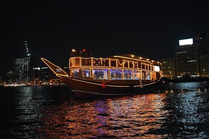 2 Hours Dubai Marina Water Canal Dinner Cruise