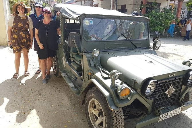 Jeep Tour to Hoi An Countryside with 3 Local Villages & Basket Boat Ride