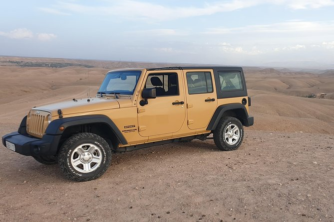 Day trip to the Agafay Desert and the Atlas Mountains in 4x4