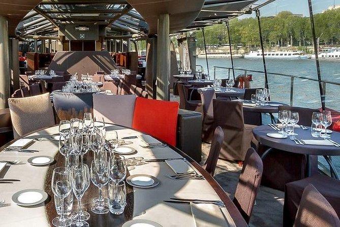 Eiffel Tower 2nd Floor Access & Seine River Lunch Cruise