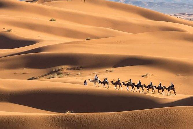 Sahara Desert of Merzouga Morocco 3 days tour starting and ending in Marrakech