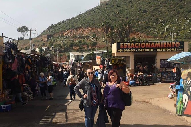 Scenic Bufadora & Flea Market Shopping Private Tour
