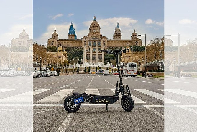 Electric Scooter -Montjuic Tour