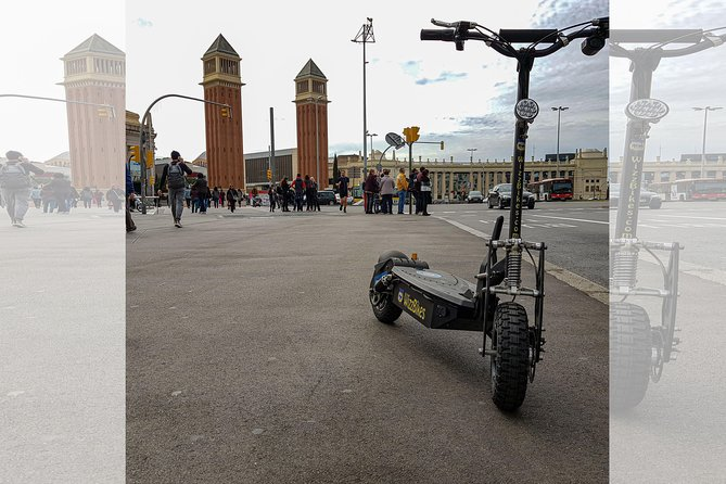 Electric Scooter -Gaudi Tour