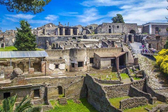 Pompeii & Herculaneum Archaeological Park Tour