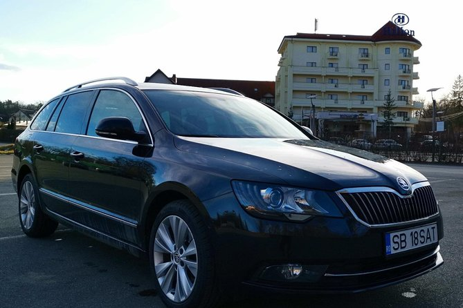 Airport Transfer - from SBZ airport to any hotel in Sibiu