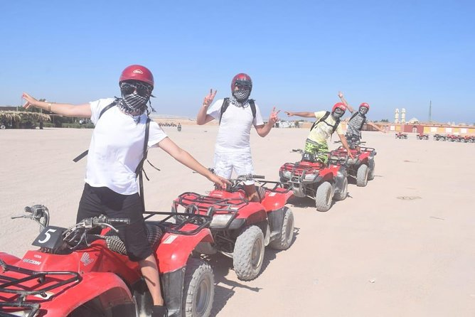 3-Hours Quad Bike Desert Safari in Hurghada