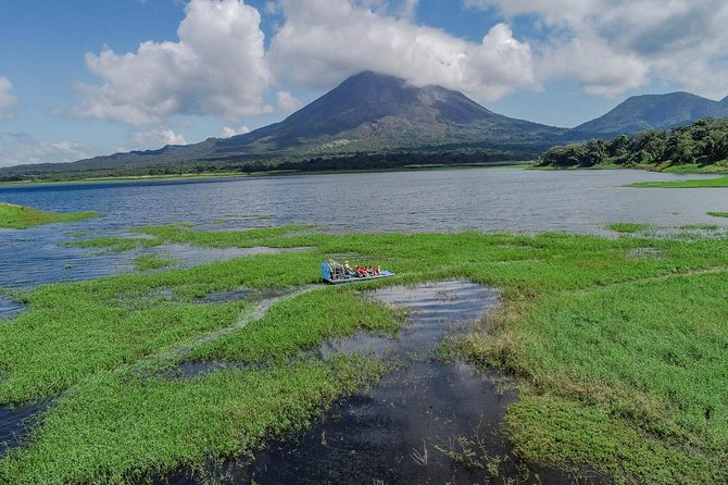 FULL DAY Tour (AIRBOAT, Horse Riding, Waterfalls, Lunch, Farm with Milking Cows)