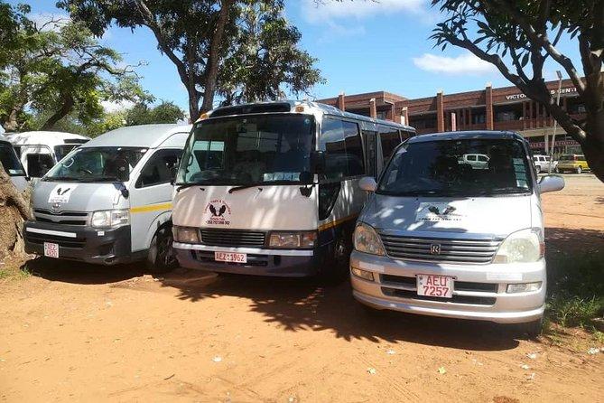Victoria Falls Town Zimbabwe to Livingstone Airport Zambia