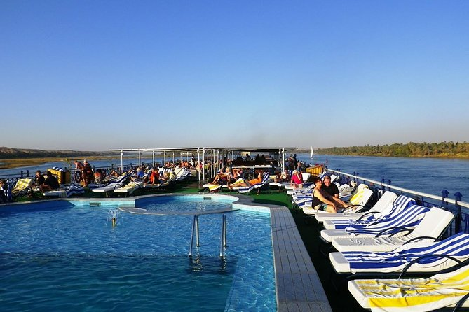 4 Days Nile Cruise Luxor. Aswan. Abu simbel with Train Tickets from Cairo