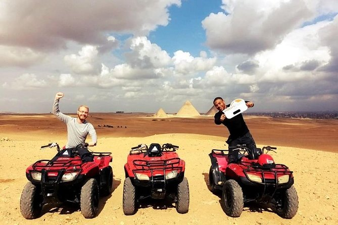 Quad Bike Ride Half Day Tour around The Great Pyramids