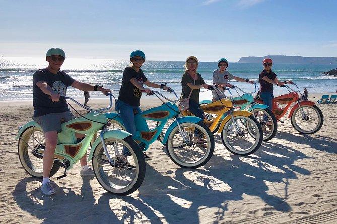 Fat Woody Beach Cruiser Experience - Coronado Island Electric Bicycle Tour