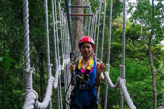 Umgawa Langkawi Jungle High Ropes Course and Zip-lining