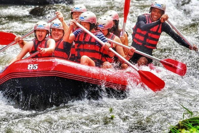 Amazing Full-Day Rafting Adventure in Telaga Waja River and Ubud Tour