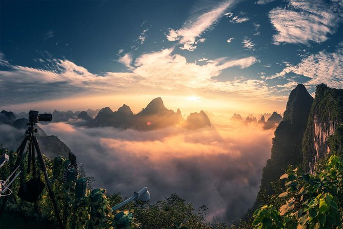Private Guilin Xianggong Hill Day Tour Including Lunch