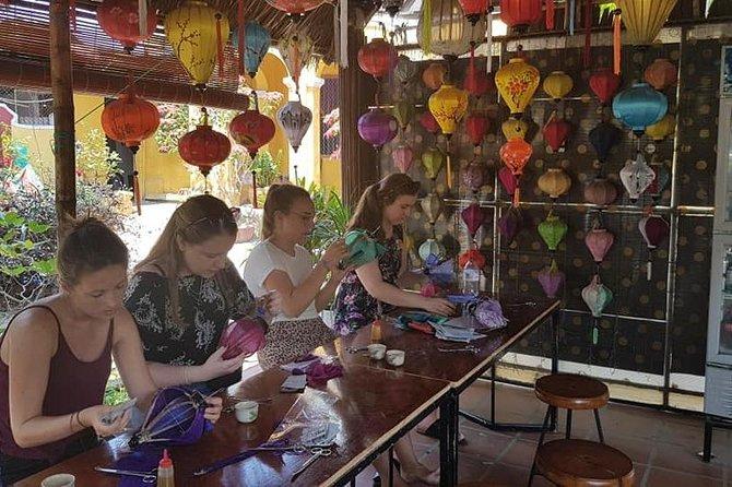 Hoi An Lantern Making Class & Hoi An Walking Private Tour