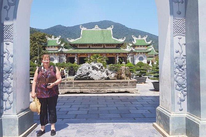 Golden Bridge - Monkey Mountain- Dragon Bridge- Marble Mountain Private day Trip