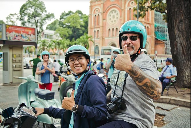 Half-Day Ho Chi Minh City Scooter Guided Tour
