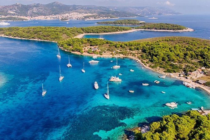 Private Half Day Boat Tour to Hvar and Pakleni Islands