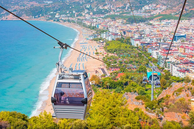 Alanya Tour with Cable Car, Boat Trip and Lunch at Dimcay