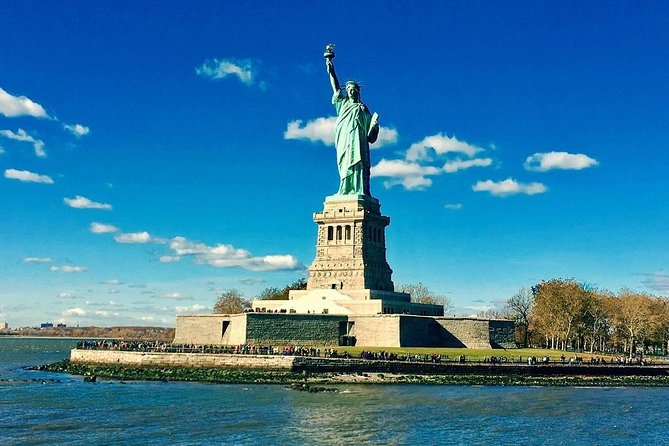 Statue of Liberty & Ellis Island with Pedestal Access : Exclusive Guided Tour