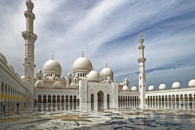 Dubai :The Louvre Museum & The Grand Mosque Abu Dhabi Tour with Hotel pickup