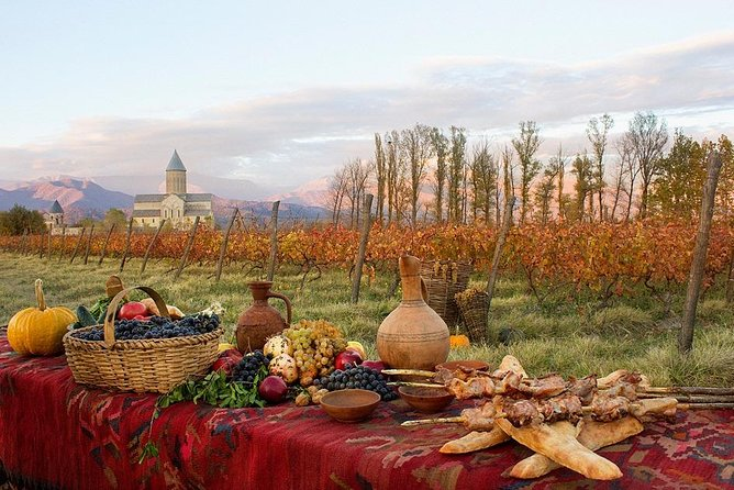 Tour in Kakheti region. Wine tasting included.