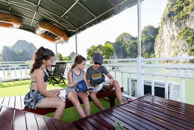 Halong Bay Full Day Tour: Cruise, Kayak and Caves