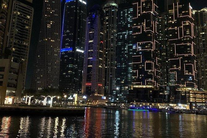 4 Hours Dubai Illuminated by Night Walking Tour
