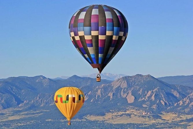 Sunrise Hot Air Balloon Ride with shopping tour