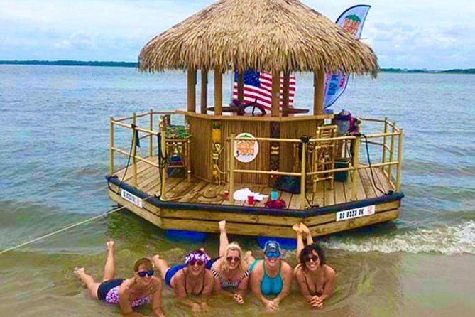 Small Group Clearwater Beach Tiki Boat Cruise