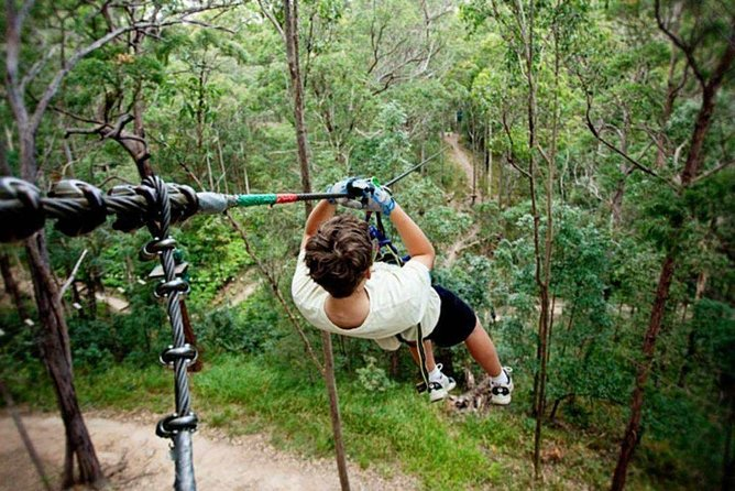 Kanchanaburi Tree Top Adventure Park Ticket