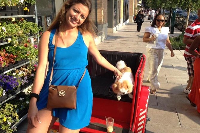Bring your Doggy Pedicab Tour