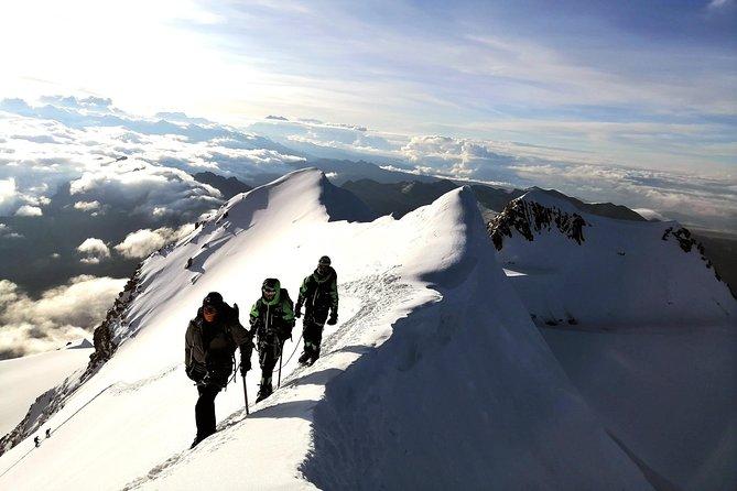 Huayna potosi 6088m. 3 day Climb